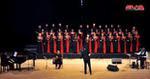 كورال حنين وحلم (صافيتا) يغني زياد الرحباني على مسرح دار الأسد باللاذقية