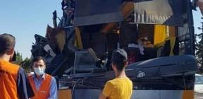 الثاني من نوعه خلال أسبوع.. إصابة 19 طالبا بحادث سير في سوريا