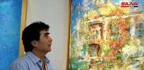 معرض ثقافي فني سوري في الصين بعنوان (خطوة ثالثة سورية على طريق الحرير.. انعكاسات الضوء)