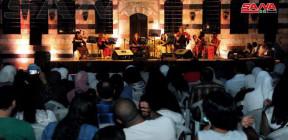 التخت الشرقي النسائي السوري يفتتح مهرجان (تحيا الموسيقا) بقصر العظم