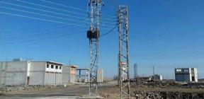 إنجاز الأعمال الكهربائية للمنطقة الحرفية في أم الزيتون بالسويداء