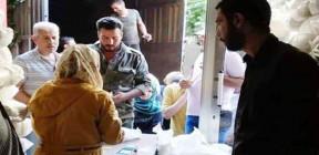 52 بالمئة نسبة تنفيذ مبيعات المواد المقننة بموجب البطاقة الالكترونية في حمص