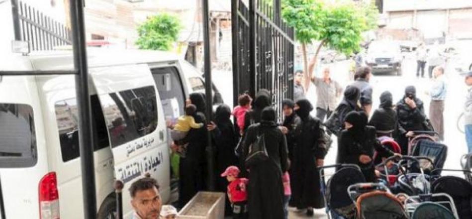 خدمات علاجية وأدوية لنحو 86 ألف شخص من أهالي الغوطة