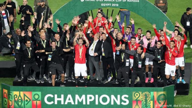 لأول مرة.. مصر بطلة لأمم أفريقيا لكرة القدم تحت 23 عاما